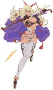 Rating: Questionable Score: 56 Tags: bikini_armor cleavage itou_ittousai oda_non sengoku_bushouki_muramasa sword thighhighs underboob User: ferkunxd