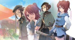 Rating: Safe Score: 8 Tags: megane shuumatsu_nani_shitemasu_ka?_isogashii_desu_ka?_sukutte_moratte_ii_desu_ka? sword tagme ue User: kiyoe