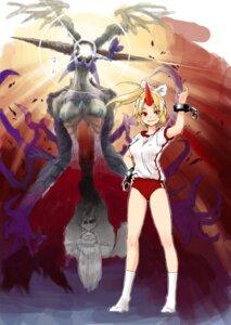 Rating: Safe Score: 10 Tags: aoi_shizuka crossover final_fantasy final_fantasy_viii hoshiguma_yuugi touhou ultimecia User: Radioactive
