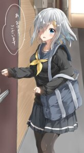 Rating: Safe Score: 25 Tags: hamakaze_(kancolle) kantai_collection pantyhose pentagon_(railgun_ky1206) seifuku sweater User: Asukakam