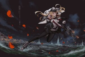 Rating: Safe Score: 45 Tags: graf_zeppelin_(kancolle) gun kantai_collection pantyhose sekigan uniform User: Mr_GT