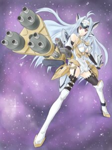 Rating: Safe Score: 12 Tags: kos-mos satogo thighhighs xenosaga User: Radioactive