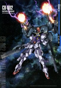 Rating: Safe Score: 13 Tags: gundam gundam_00 gundam_00:_a_wakening_of_the_trailblazer matsuda_hiroshi mecha User: drop