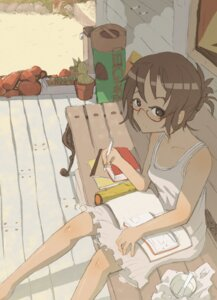 Rating: Safe Score: 14 Tags: dress megane sonjow4 summer_dress tan_lines User: Radioactive