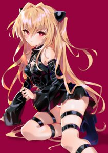 Rating: Safe Score: 41 Tags: arutera garter golden_darkness heels pantsu to_love_ru to_love_ru_darkness User: Mr_GT