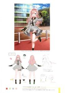 Rating: Safe Score: 9 Tags: character_design garter luck_and_logic shirako_miso sketch uniform User: kiyoe