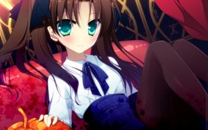 Rating: Safe Score: 34 Tags: fate/stay_night frac motomiya_mitsuki pantyhose toosaka_rin wallpaper User: WtfCakes