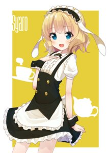 Rating: Safe Score: 42 Tags: gochuumon_wa_usagi_desu_ka? kirima_sharo maid onedan User: Mr_GT