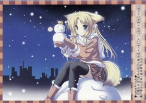 Rating: Safe Score: 12 Tags: animal_ears tail tenmaso thighhighs User: cheese