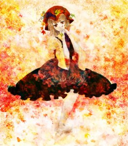 Rating: Safe Score: 8 Tags: aki_minoriko dress minase touhou User: charunetra