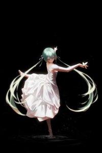 Rating: Safe Score: 18 Tags: dress hatsune_miku no_bra rsef skirt_lift vocaloid User: Munchau