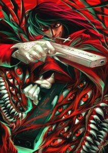 Rating: Safe Score: 11 Tags: alucard ares_(krimsonblood) gun hellsing male User: charunetra