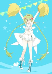Rating: Safe Score: 16 Tags: cheerleader hatsune_miku megane vocaloid yoshiki59 User: charunetra