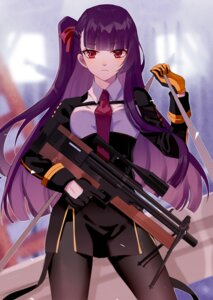 Rating: Safe Score: 26 Tags: girls_frontline gun izumo_neru pantyhose uniform wa2000_(girls_frontline) User: charunetra