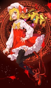 Rating: Safe Score: 26 Tags: blood dress flandre_scarlet poppy_(artist) stockings thighhighs touhou User: Mr_GT