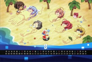 Rating: Safe Score: 6 Tags: calendar carnelian chibi kantai_collection megane raw_scan school_swimsuit seifuku swimsuits User: peoplo