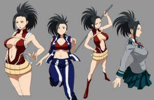Rating: Questionable Score: 23 Tags: bikini_top bodysuit boku_no_hero_academia cleavage gym_uniform minami_koyogi no_bra open_shirt seifuku sword yaoyorozu_momo User: joshuagraham