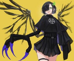 Rating: Safe Score: 15 Tags: dress garter kasagarasu monster_girl wings User: Dreista