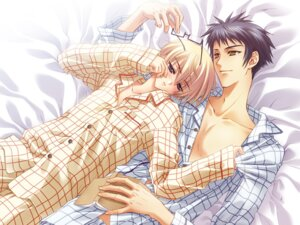 Rating: Safe Score: 16 Tags: carnelian male megane pajama shinkon-san_~sweet_sweet_honeymoon~ wallpaper yaoi User: alimilena