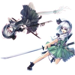 Rating: Safe Score: 32 Tags: konpaku_youmu myon sword teco touhou User: tbchyu001