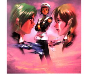 Rating: Safe Score: 4 Tags: macross macross_m3 maximilian_jenius mikimoto_haruhiko milia_farina the_super_dimension_fortress_macross vf_valkyrie User: Radioactive