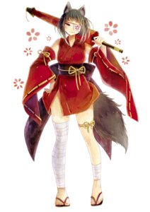 Rating: Safe Score: 11 Tags: animal_ears bandages eyepatch japanese_clothes tagme tail umbrella User: dick_dickinson