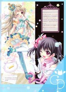 Rating: Questionable Score: 14 Tags: bloomers heels hisuitei izumi_tsubasu love_live! minami_kotori thighhighs yazawa_nico User: Radioactive