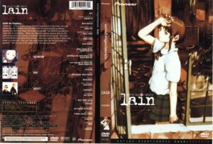 Rating: Safe Score: 5 Tags: abe_yoshitoshi disc_cover iwakura_lain seifuku serial_experiments_lain User: Radioactive