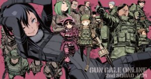 Rating: Safe Score: 9 Tags: bodysuit fukaziroh gun kuroboshi_kouhaku llenn m megane pantyhose pitohui sword_art_online_alternative:_gun_gale_online tattoo uniform User: kiyoe