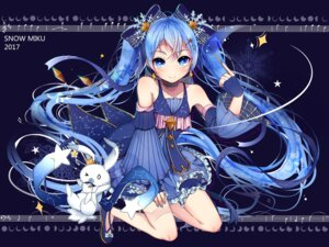Rating: Safe Score: 64 Tags: dress hatsune_miku tagme vocaloid yuki_miku User: Mr_GT
