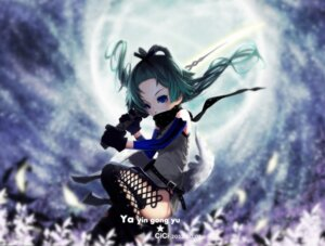 Rating: Safe Score: 16 Tags: cici sword thighhighs User: Radioactive
