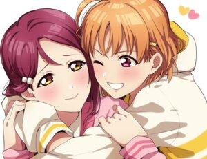 Rating: Safe Score: 12 Tags: kougi_hiroshi love_live!_sunshine!! sakurauchi_riko takami_chika yuri User: saemonnokami