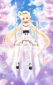 Rating: Safe Score: 24 Tags: chii chobits dress shinsui_saya thighhighs User: TassadaR