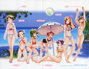 Rating: Questionable Score: 17 Tags: bikini cleavage crease erect_nipples fixme megane school_swimsuit swimsuits teri_terio User: admin2