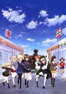 Rating: Safe Score: 13 Tags: akiyama_yukari anchovy darjeeling girls_und_panzer katyusha kay_(girls_und_panzer) nishi_kinuyo nishizumi_maho nishizumi_miho pantyhose seifuku sweater thighhighs uniform User: drop