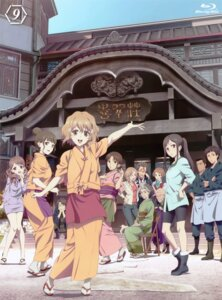 Rating: Safe Score: 21 Tags: bike_shorts business_suit disc_cover hanasaku_iroha heels matsumae_ohana megane yukata User: xiaowufeixia