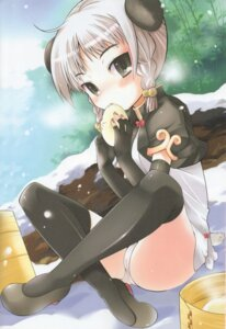Rating: Questionable Score: 20 Tags: loli pantsu thighhighs tontoro User: syaoran-kun