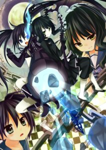 Rating: Safe Score: 19 Tags: amene_kurumi black_rock_shooter black_rock_shooter_(character) dead_master kuroi_mato takanashi_yomi vocaloid User: fairyren