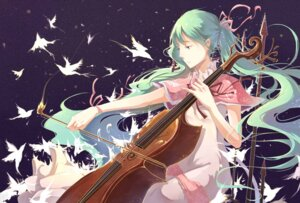 Rating: Safe Score: 17 Tags: cr dress hatsune_miku vocaloid User: LolitaJoy