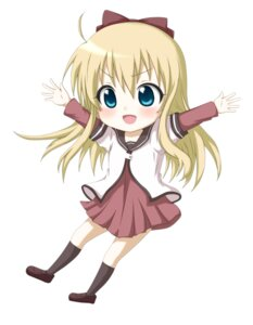 Rating: Safe Score: 15 Tags: chibi kuena seifuku toshinou_kyouko yuru_yuri User: SubaruSumeragi
