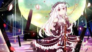 Rating: Safe Score: 44 Tags: cleavage dress gothic_lolita lolita_fashion niliu_chahui sword tokisaki_mio User: charunetra