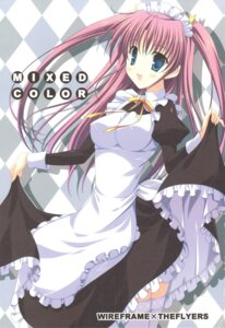 Rating: Safe Score: 15 Tags: maid naruse_mamoru the_flyers thighhighs User: fireattack