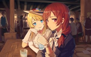 Rating: Safe Score: 73 Tags: ayase_eli huanxiang_heitu love_live! nishikino_maki User: Mr_GT
