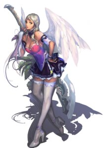 Rating: Safe Score: 33 Tags: aion cleavage jeong_juno nc_soft thighhighs wings User: Radioactive