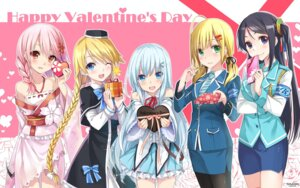 Rating: Safe Score: 46 Tags: anthropomorphization dress emilia_(k.r.t.girls) hika_(cross-angel) k.r.t.girls kuuki_shoujo magi_in_wanchin_basilica pantyhose sergestid_shrimp_in_tungkang the_personification_of_atmosphere uniform valentine User: KazukiNanako