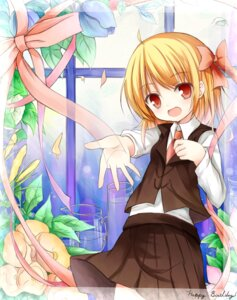 Rating: Safe Score: 20 Tags: rumia touhou yuuhagi User: 椎名深夏
