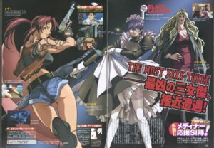 Rating: Safe Score: 6 Tags: balalaika black_lagoon gap gun maid pantyhose revy roberta skirt_lift tattoo thighhighs User: Radioactive