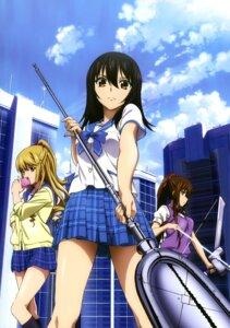 Rating: Questionable Score: 26 Tags: aiba_asagi himeragi_yukina kirasaka_sayaka seifuku strike_the_blood sweater tagme weapon User: drop
