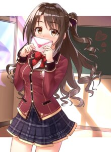 Rating: Safe Score: 48 Tags: seifuku shimamura_uzuki shunichi the_idolm@ster the_idolm@ster_cinderella_girls User: Mr_GT