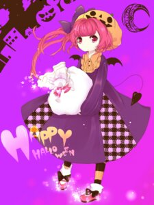 Rating: Safe Score: 4 Tags: dress halloween momoshiki_tsubaki User: charunetra